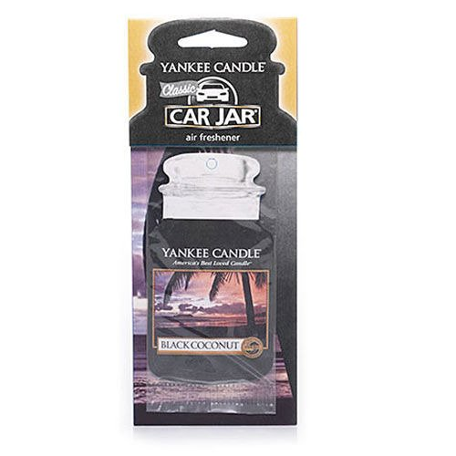 CAR JAR BLACK COCONUT