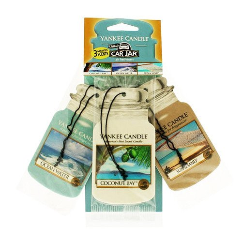 CAR JAR VARIETY PACK SEACOAST HIGHWAY (COCONUT BAY + OCEAN WATER + SUN & SAND)