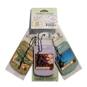 CAR JAR VARIETY PACK SPA DAY (ISLAND SPA + LAVENDER VANILLA + SAGE & CITRUS)