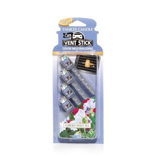 CAR VENT STICK GARDEN SWEET PEA - 4 SZT